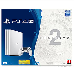Glacier White PS4 Pro 1TB Destiny 2 Game and Expansion Pass Bundle – Only at GAMEPlayStation 4