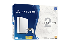 Glacier White PS4 Pro 1TB Destiny 2 Game and Expansion Pass Bundle – Only at GAME screen shot 1