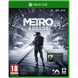 Metro: Exodus - With Only at GAME Pre-Order Bonus