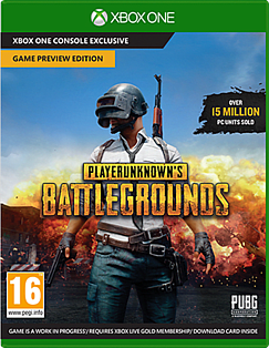 PLAYERUNKNOWN'S BATTLEGROUNDS – Game Preview EditionXbox OneCover Art