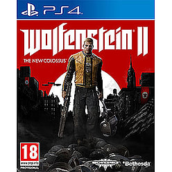 Wolfenstein II: The New Colossus PlayStation 4 Cover Art