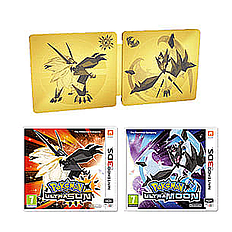 Pokemon Ultra Sun and Pokemon Ultra Moon: Ultra Dual Edition2DS/3DS