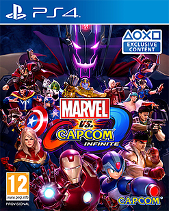Marvel Vs Capcom InfinitePlayStation 4Cover Art