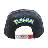 Pokemon Poke Ball Sublimated Bill Snapback Cap screen shot 2