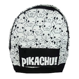 Pokemon Pikachu Black and White BackpackCounter Basket
