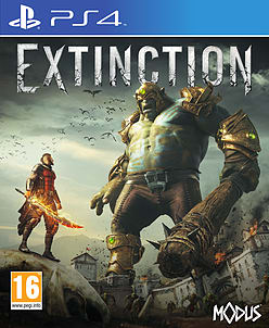 ExtinctionPlayStation 4Cover Art