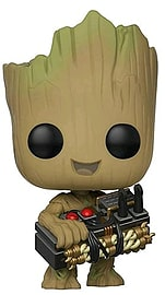 POP Movies: Guardians of the Galaxy 2: Groot with BombScaled Models