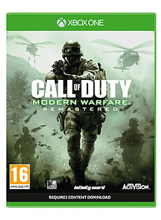 Call of Duty Modern Warfare RemasteredXbox OneCover Art