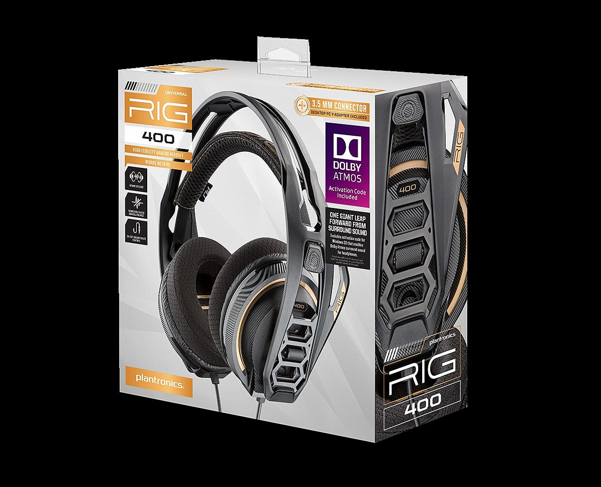 18b7a5f0de7 Buy Plantronics RIG 400 Stereo Headset with Dolby Atmos   GAME