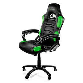 Arozzi Enzo Gaming Chair - GreenMulti Format and Universal