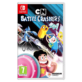 Cartoon Network Battle CrashersSwitchCover Art