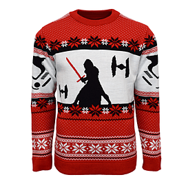 Star Wars: Kylo Ren Xmas Jumper (Small)Clothing and Merchandise