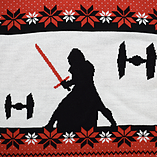 Star Wars: Kylo Ren Xmas Jumper (Large) screen shot 3