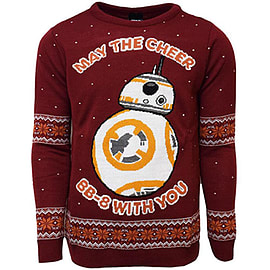 BB-8 Xmas Jumper (X Large)Clothing and Merchandise