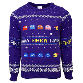 Pac-Man Christmas Jumper XLClothing and Merchandise