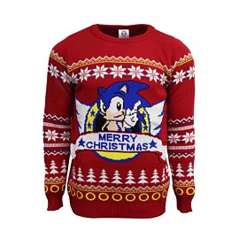 Sonic Xmas Jumper MClothing and Merchandise