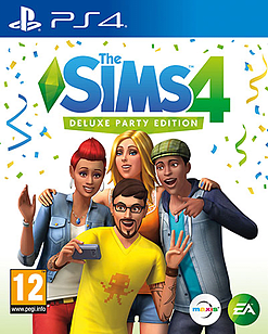 The Sims 4 Deluxe Party EditionPlayStation 4Cover Art