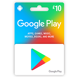 UK Google Play £10 - 2018Google