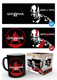 God of War Kratos Heat Changing MugHome - Tableware