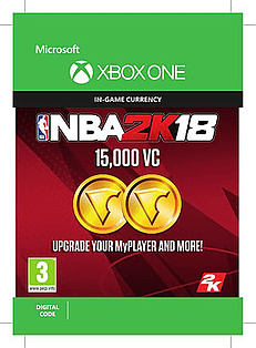 NBA 2K18 15000VC for XBOX ONE