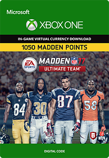 Madden NFL 18: MUT 1050 Madden Points PackXbox One