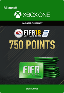 FIFA 18: Ultimate Team FIFA Points 750Xbox One