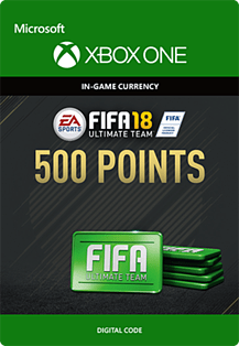 FIFA 18: Ultimate Team FIFA Points 500 Xbox One