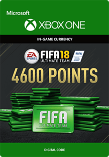 FIFA 18: Ultimate Team FIFA Points 4600 Xbox One