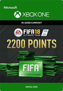 FIFA 18: Ultimate Team FIFA Points 2200 Xbox One