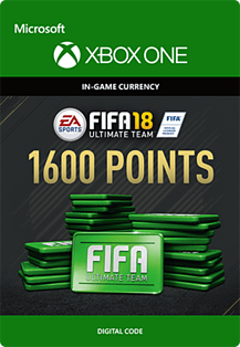 FIFA 18: Ultimate Team FIFA Points 1600Xbox One