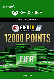FIFA 18: Ultimate Team FIFA Points 12000Xbox One