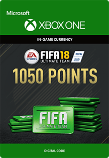 FIFA 18: Ultimate Team FIFA Points 1050Xbox One