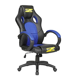 BraZen Shadow PC Gaming Chair Blue/BlackMulti Format and Universal