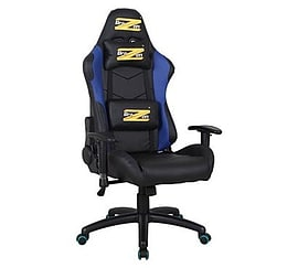 BraZen Shadow PRO Racing PC Gaming Chair Blue/BlackMulti Format and Universal