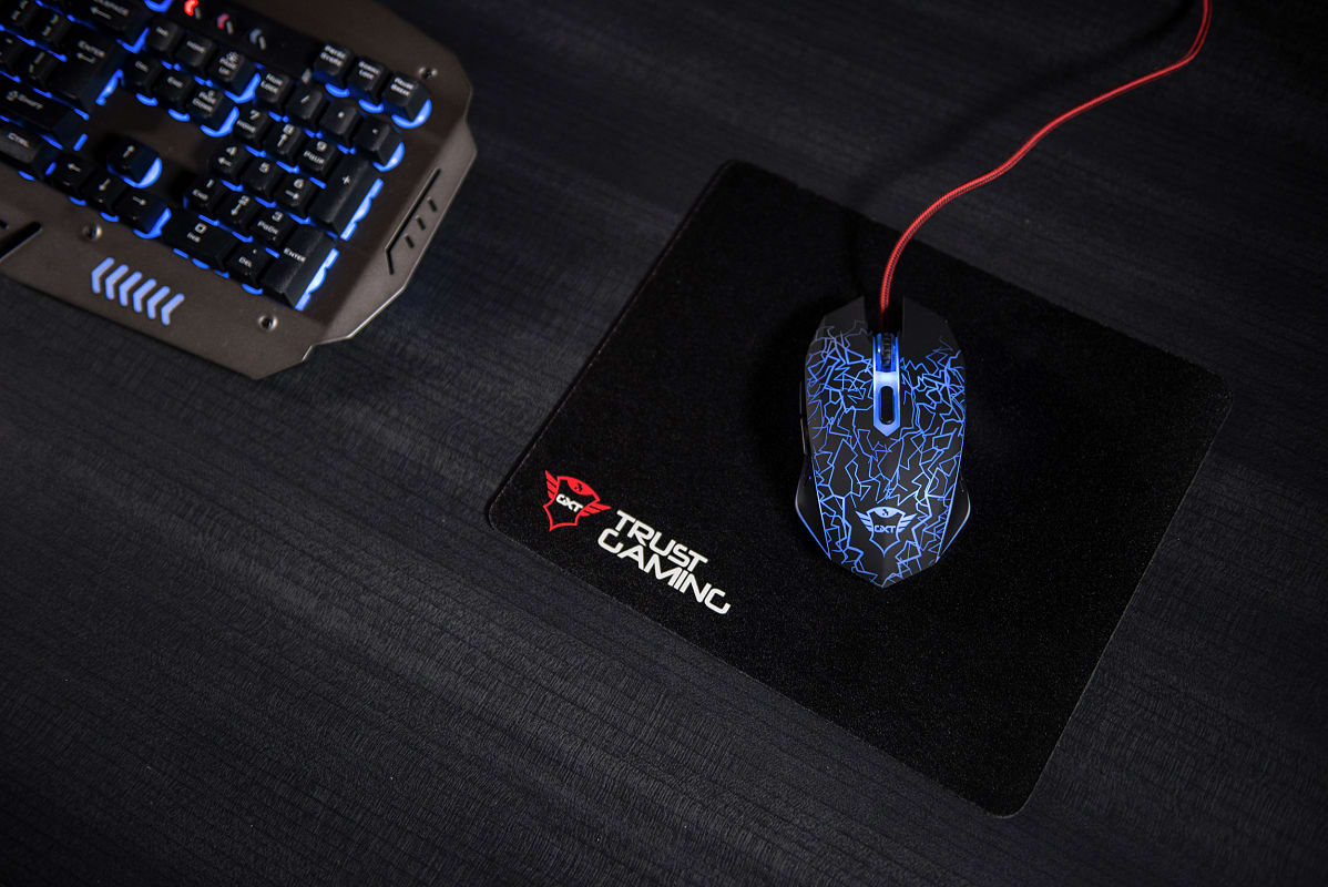 72703bb129d Buy Trust GXT 105 Izza Illuminated Gaming Mouse | GAME