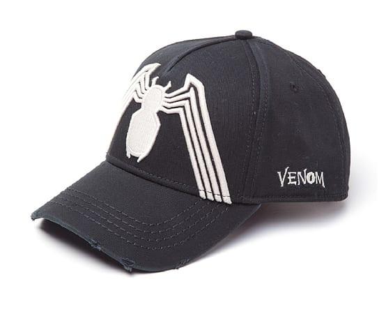 Spiderman Baseball Cap Venom Logo vintage frayed new Official Marvel Black  Size  20493dbfbfe