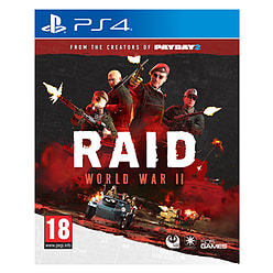 RAID World War IIPlayStation 4Cover Art
