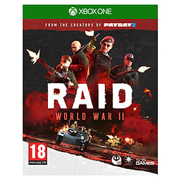 RAID World War IIXbox OneCover Art