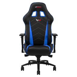 GT Omega PRO Racing Office chair Black Next Blue leatherMulti Format and Universal
