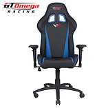 GT Omega PRO Racing Office chair Black Next Blue leather screen shot 3
