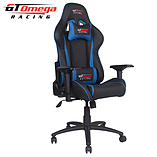 GT Omega PRO Racing Office chair Black Next Blue leather screen shot 5