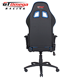 GT Omega PRO Racing Office chair Black Next Blue leather screen shot 7