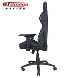 GT Omega PRO Racing Office chair Black Next Blue leather screen shot 8