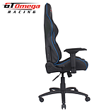 GT Omega PRO Racing Office chair Black Next Blue leather screen shot 9