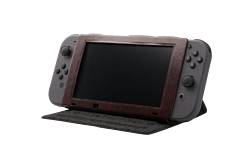 Nintendo Switch Hybrid Cover - Zelda Hylian Crest Leatherette screen shot 1