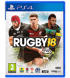 RUGBY 18PlayStation 4Cover Art