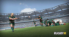 RUGBY 18 screen shot 1