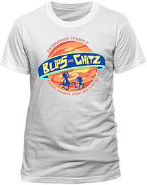 Ricky and Morty - Blips and Chitz T-Shirt (Medium)Clothing and Merchandise