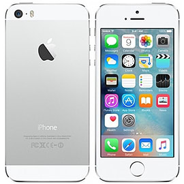 Apple iPhone 5S 16GB Silver Refurbished - Unlocked (Grade A)