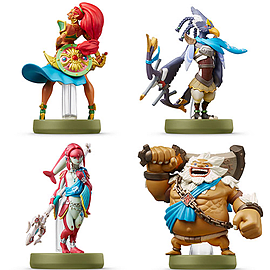 amiibo Zelda: Breath of the Wild - Champions 4 PackAmiiboCover Art